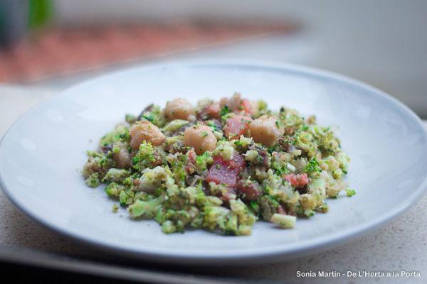receta cous cous de brócoli ecológico