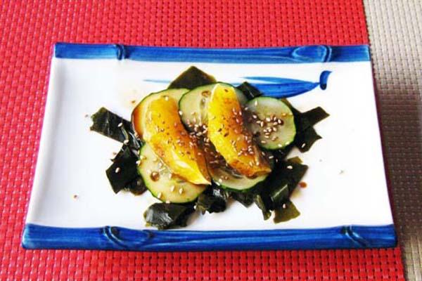 Receta ensalada japonesa sumonomo