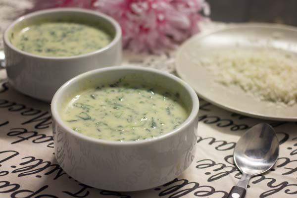 Receta crema espinacas y bechamel