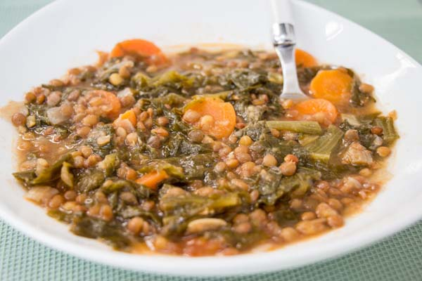 receta sopa de escarola ecologica