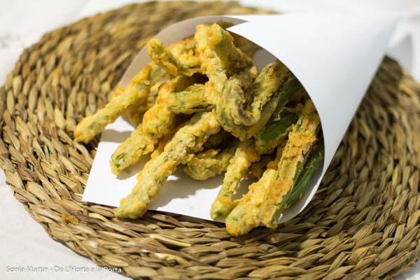 receta tempura de apio