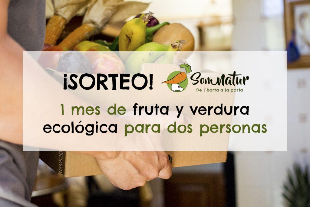 Sorteo 1 mes de fruta y verdura ecológica Somnatur
