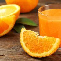 naranja de zumo ecológico